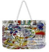 The Game Of Life Weekender Tote Bag