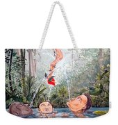 The Game Of The River Weekender Tote Bag