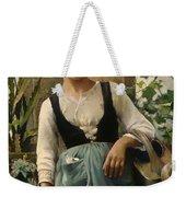 The Garden Girl Weekender Tote Bag