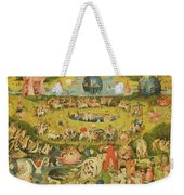 The Garden Of Earthly Delights Allegory Of Luxury, Central Panel Of Triptych, C.1500 Oil On Panel Weekender Tote Bag