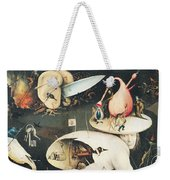 The Garden Of Earthly Delights Hell, Right Wing Of Triptych, C.1500 Oil On Panel See 322, 3425 Weekender Tote Bag