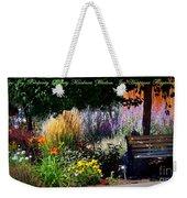 The Garden Of Life Weekender Tote Bag