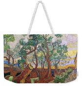 The Garden Of St Pauls Hospital At St. Remy Weekender Tote Bag by Vincent Van Gogh