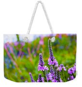 The Garden Palette Weekender Tote Bag