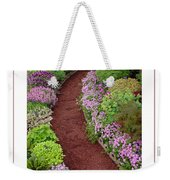 The Garden Poster Weekender Tote Bag