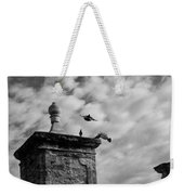 The Gate At Castillo Weekender Tote Bag