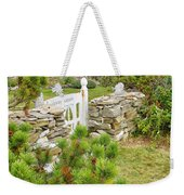 The Gate By The Sea Weekender Tote Bag