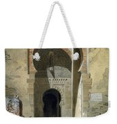 The Gate Of Justice Weekender Tote Bag