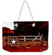 The Gate To Texas  Weekender Tote Bag