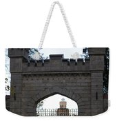 The Gates Leading Into New Sigulda Castle Weekender Tote Bag