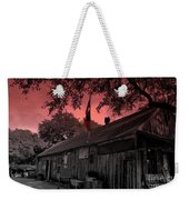 The General Store In Luckenbach Texas Weekender Tote Bag by Susanne Van Hulst