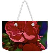 The Geraniums Weekender Tote Bag