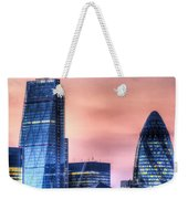 The Gherkin And The Cheesgrater London Weekender Tote Bag