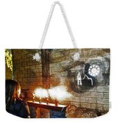 The Ghost Of Cathedral's Past Weekender Tote Bag