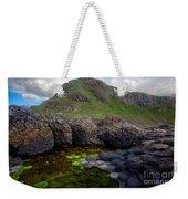 The Giant's Causeway - Peak And Pool Weekender Tote Bag