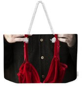 The Gift Weekender Tote Bag by Edward Fielding