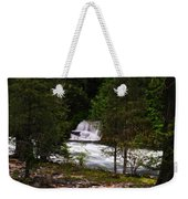 The Gift Of A Hidden Wterfall Weekender Tote Bag by Jeff Swan
