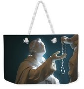 The Gift Of A Rosary Weekender Tote Bag