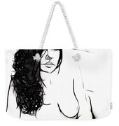 The Girl In My Bed Weekender Tote Bag