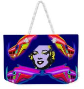 The Girl With The Dragon Moustache Weekender Tote Bag