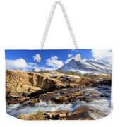 The Glacier Rush Weekender Tote Bag
