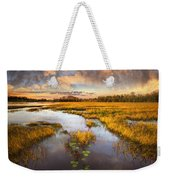 The Glades At Sunset Weekender Tote Bag