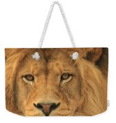 The Glory Of A King Weekender Tote Bag