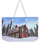 The Glory Of Winter's Chill Weekender Tote Bag
