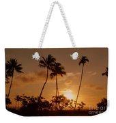 The Glow Of Sunset Weekender Tote Bag