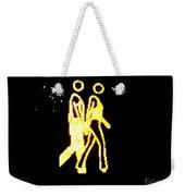 The Glowing Couple 2 Weekender Tote Bag