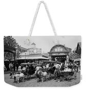 The Goat Carriages Coney Island 1900 Weekender Tote Bag