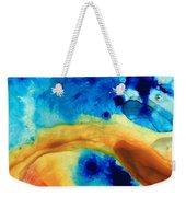 The Golden Gate - Abstract Art By Sharon Cummings Weekender Tote Bag
