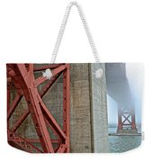 The Golden Gate - Fort Point View Weekender Tote Bag