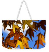 The Golden Hues Of Autumn  Weekender Tote Bag