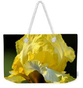 The Golden Iris Weekender Tote Bag