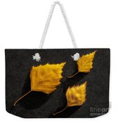 The Golden Leaves Weekender Tote Bag