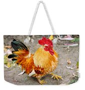 The Golden Rooster Weekender Tote Bag