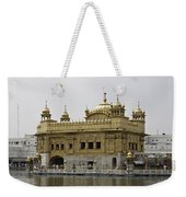 The Golden Temple In Amritsar Weekender Tote Bag
