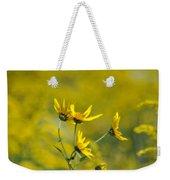 The Golden Wildflowers Weekender Tote Bag