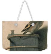 The Goldfinch Weekender Tote Bag by Carel Fabritius