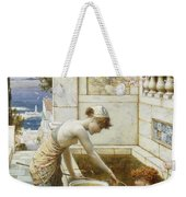 The Goldfish Pond Weekender Tote Bag
