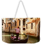 The Gondolier Weekender Tote Bag