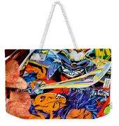 The Good Fight Weekender Tote Bag