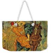 The Good Samaritan After Delacroix 1890 Weekender Tote Bag