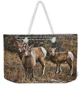 The Good Shepherd's Sheep Weekender Tote Bag
