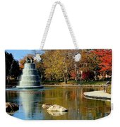 The Goodale Park  Fountain Weekender Tote Bag