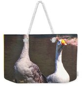 The Goose And The Gander Weekender Tote Bag