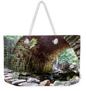 The Gorge Trail Stone Bridge Weekender Tote Bag