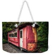 The Gospel Car Weekender Tote Bag by Adrian Evans