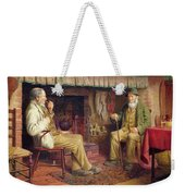 The Gossip Weekender Tote Bag by Henry Spernon Tozer
